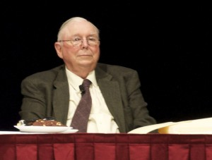 Charlie Munger at the Berkshire Hathaway Shareholder Meeting