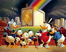 Scrooge McDuck Carl Barks Money Bin