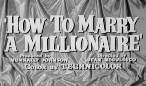How to Marry a Millionaire Screentitle