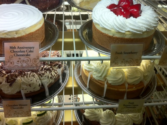 Cheesecakes at the Cheesecake Factory II