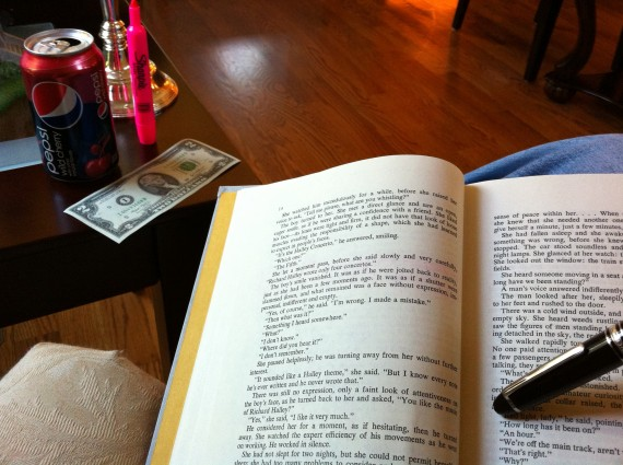 Reading Atlas Shrugged with a Cherry Pepsi