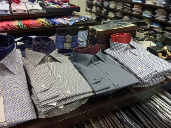 Shirts at Hall's Department Store