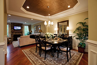 Toll Brothers Townhouse Dining Room