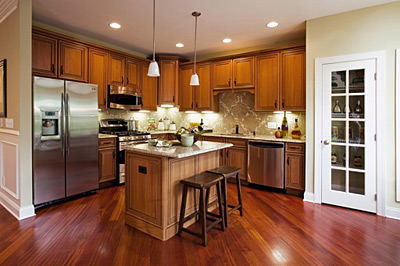 Toll Brothers Townhouse Kitchen