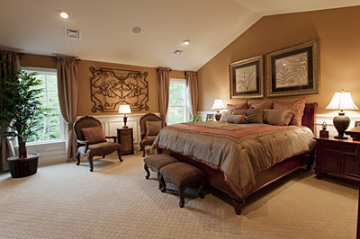 Toll Brothers Townhouse Bedroom