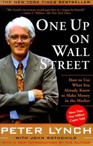 Peter Lynch One Up on Wall Street Excellent Investing Book