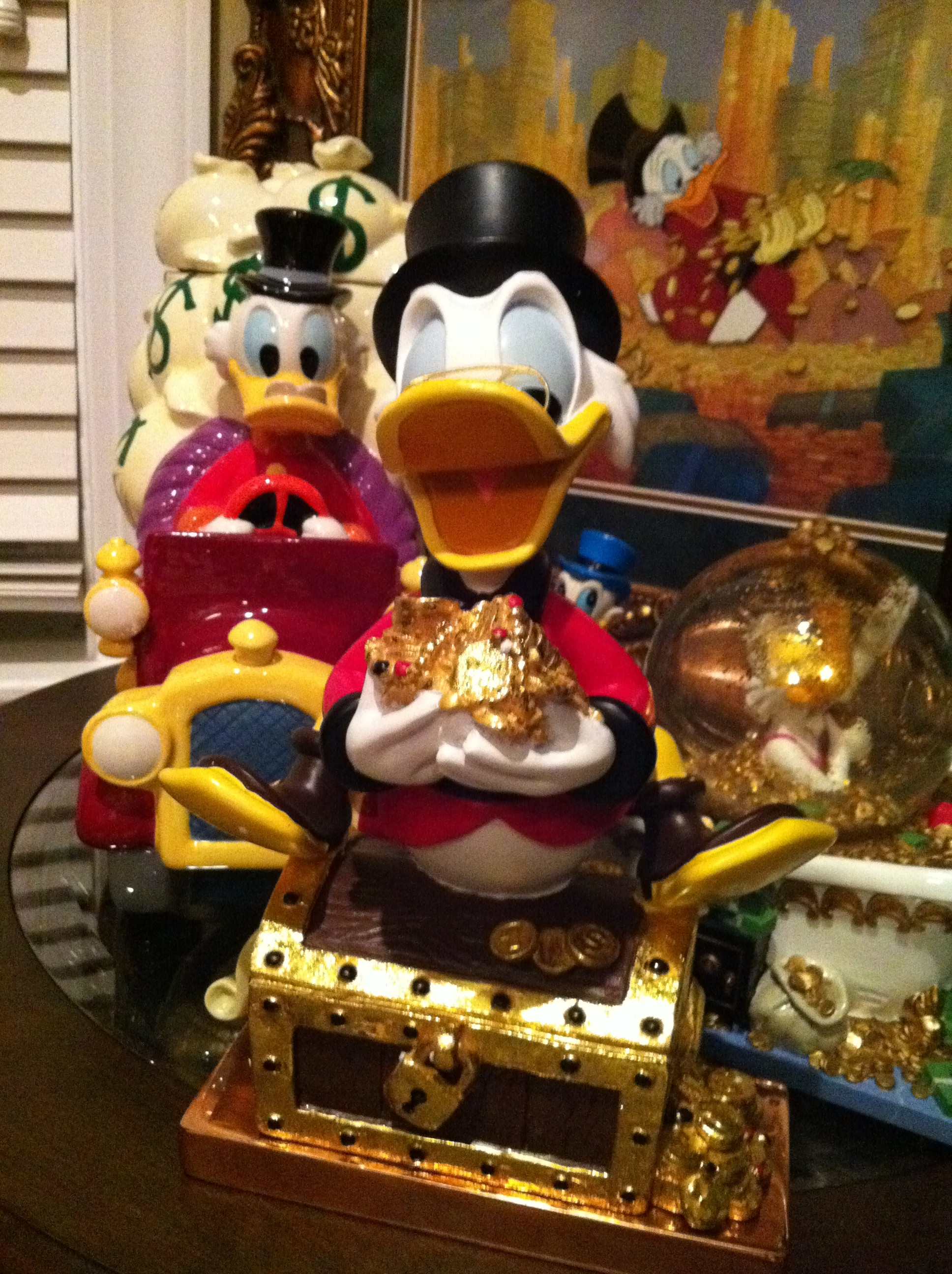 Scrooge McDuck Figuring for the Office Collectibles Collection