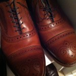 Allen Edmond Brown Oxford Shoes