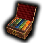 Harry Potter J.K. Rowling Box Set Trunk
