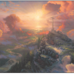 Thomas Kinkade The Cross Painting