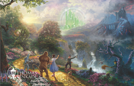 Thomas Kinkade Wizard of Oz