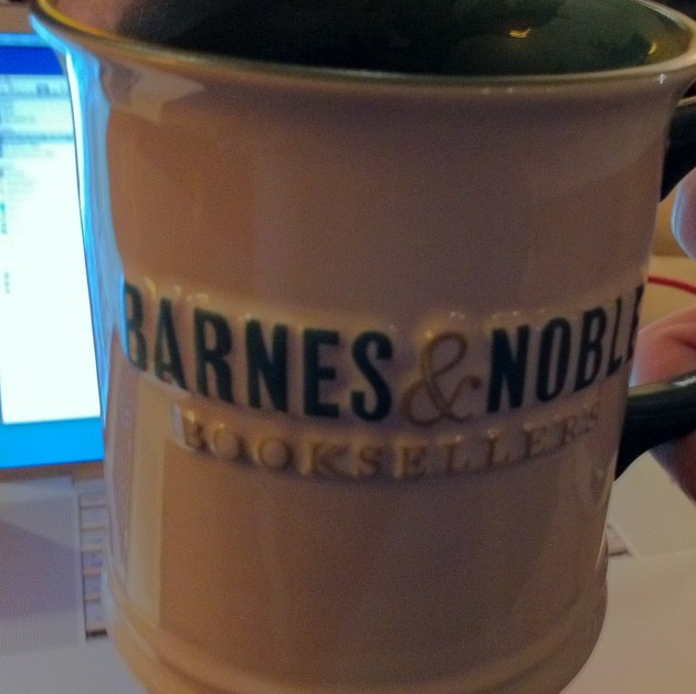 Barnes and Noble Mug