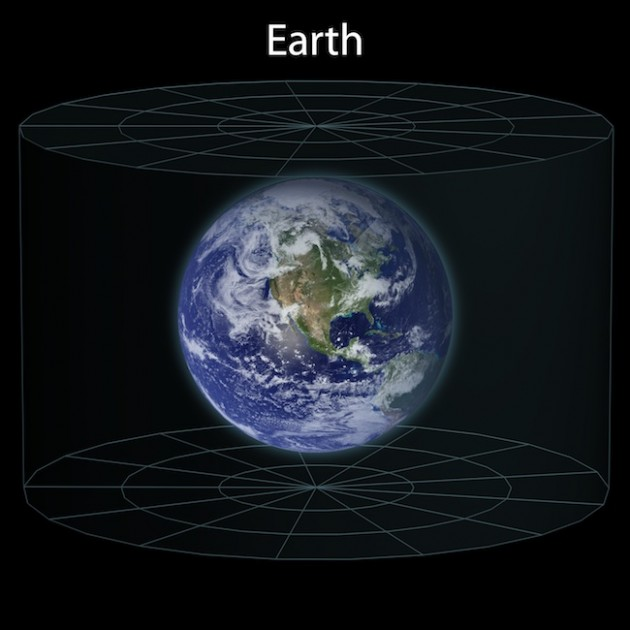 Earth Size In Universe