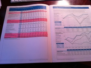 Johnson & Johnson Stock Report Two Pages