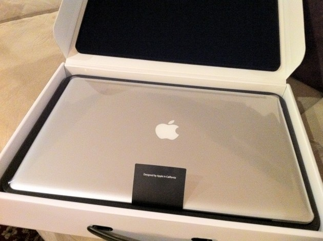 New 17 Inch MacBook Pro