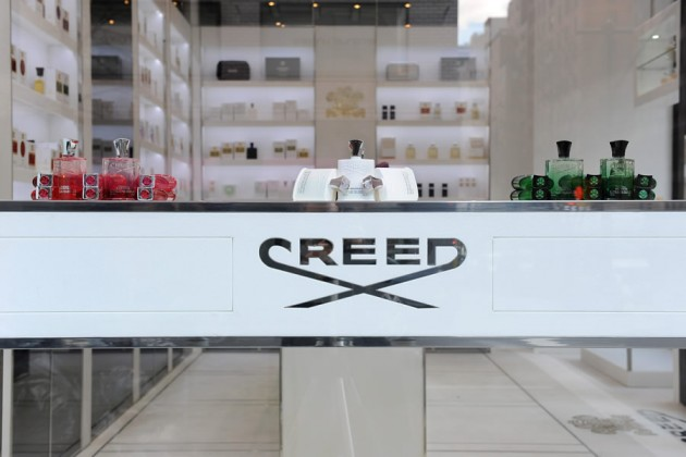 Creed Boutique New York on Madison Avenue