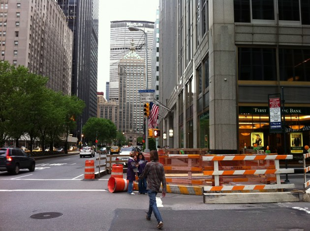 51st Street and Park Avenue