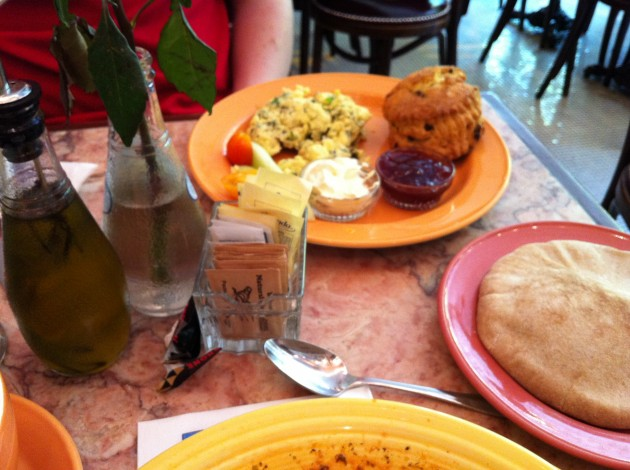 Aaron Breakfast at Cafe Lalo