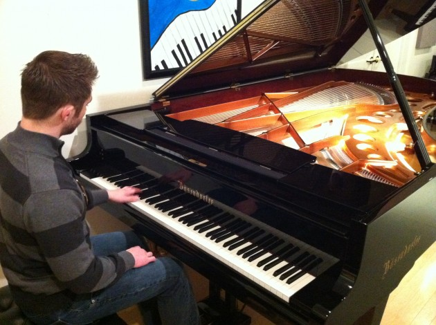 Aaron Playing Imperial Bosendorfer Grand Piano