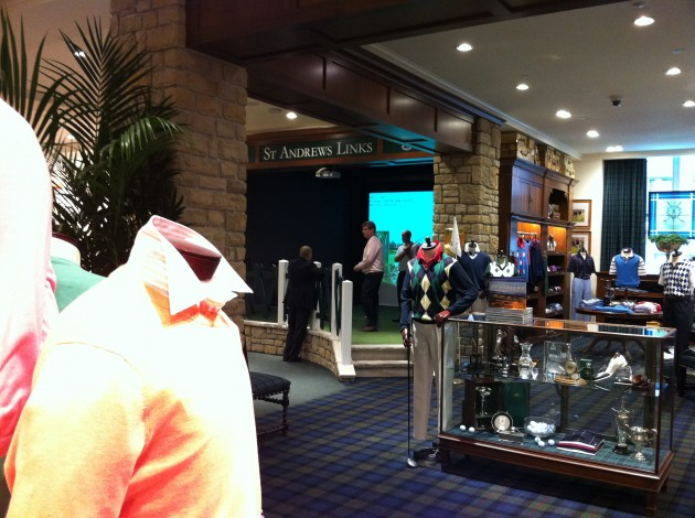 Brooks Brothers Golf Simulator