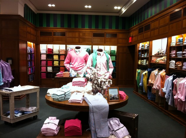 Colorful Shirts for Preppy Golf at Brooks Brothers New York