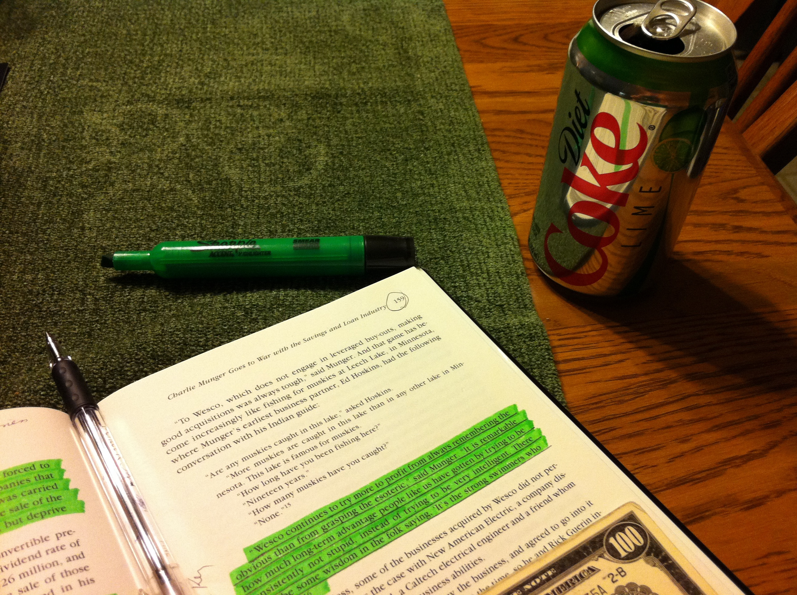 Diet Coke Lime, Charlie Munger and Wesco