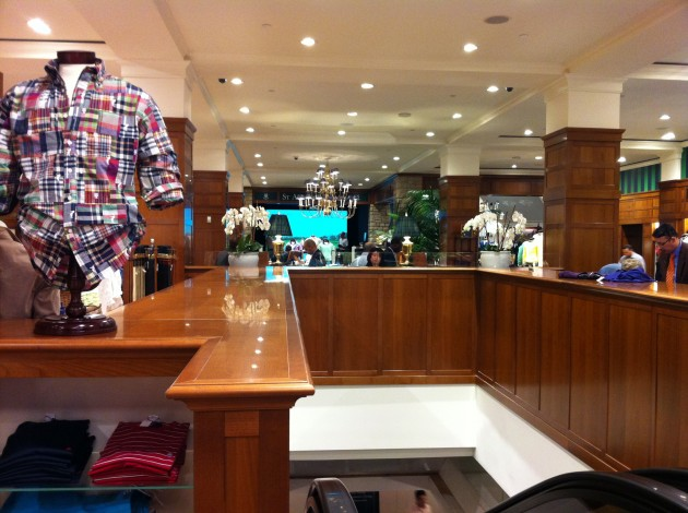 Golf Floor Brooks Brothers Flagship Store