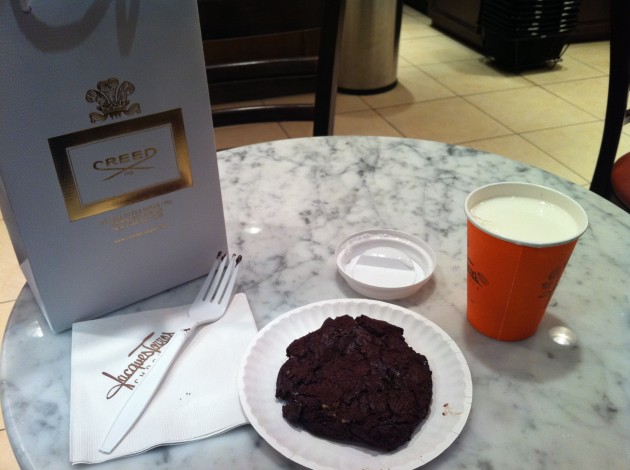 Jacques Torres Chocolate Chip Cookie with Milk