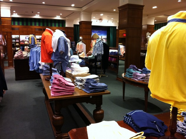More Colorful Golf Shirts at the Brooks Brothers Flagship Store
