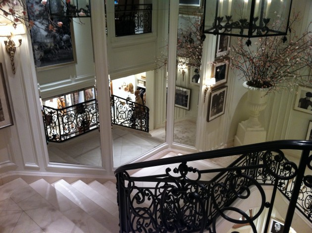 Ralph Lauren Flagship Home Staircase
