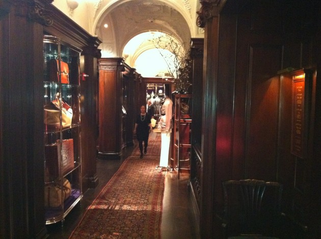 Ralph Lauren Madison Avenue Millwork Hallway