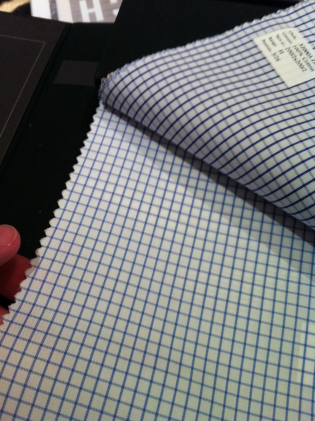 Ralph Lauren Purple Made to Measure Shirts