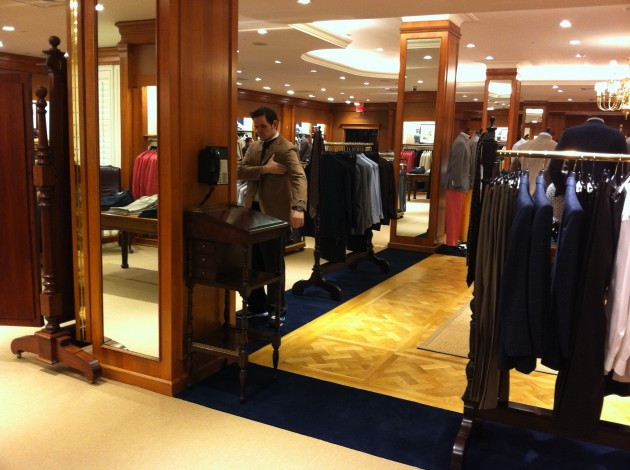 Sports Suit Fit at Brooks Brothers