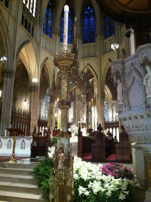 St Patrick's Cathedral Altar in New York City