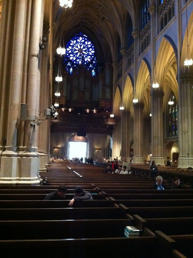 St. Patrick's Cathedral in New York City