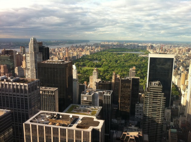 View from Top of Rockefeller Center