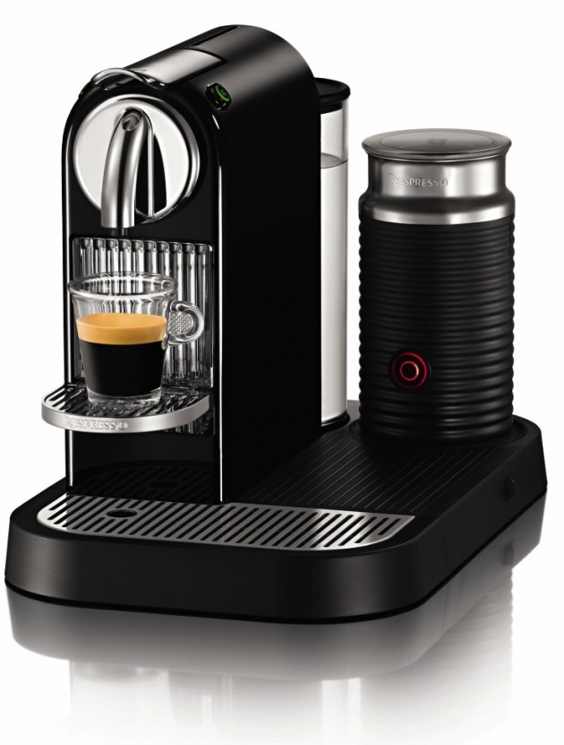 Nespresso CitiZ with Milk in Limousine Black