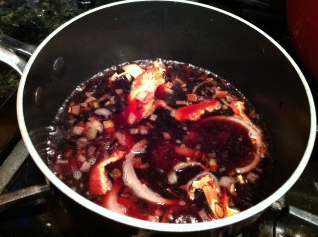 Red Wine Reduction Cooking
