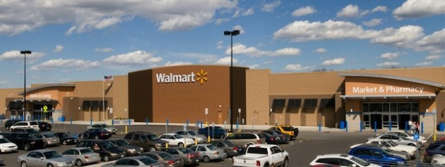 Wal-Mart Stores Stock Earnings Yield versus United States Treasury Bond Yields