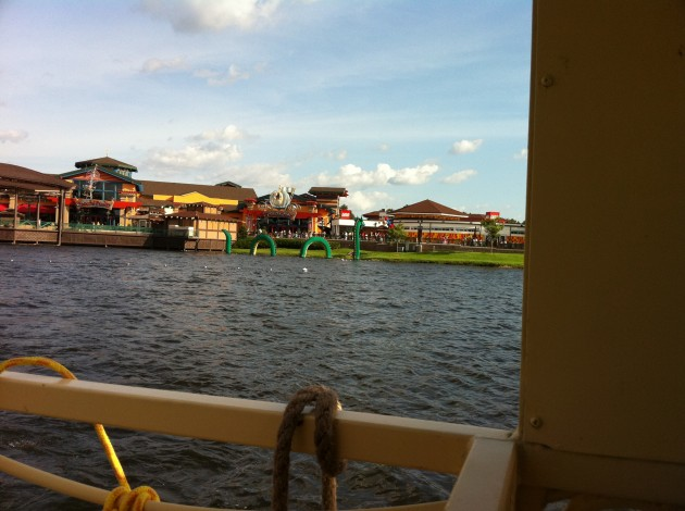 On the Boat at Downtown Disney
