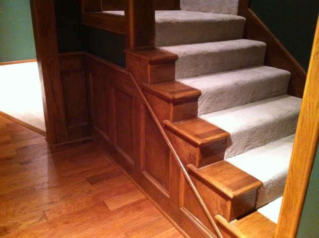 Media Room Staircase
