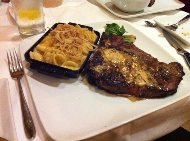 24 Ounce Center Cut Porterhouse Steak at the Yachtsman Club