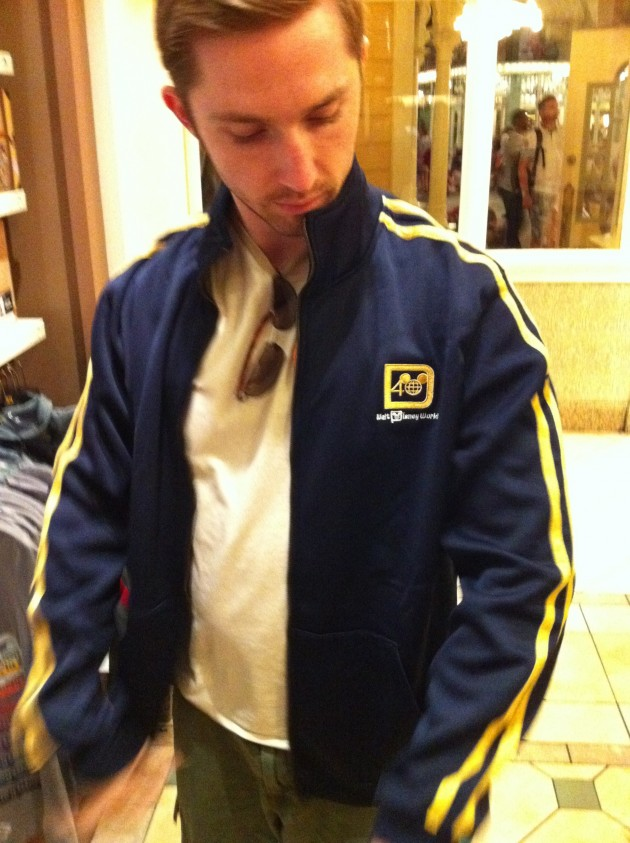 Aaron Disney Track Jacket