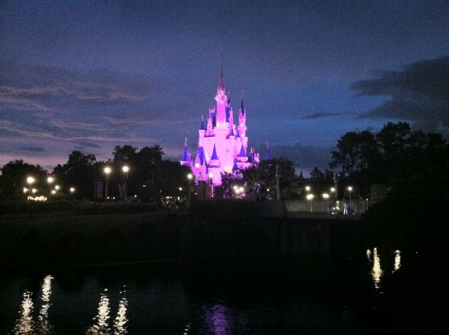 At the Castle Before the Fireworks Show
