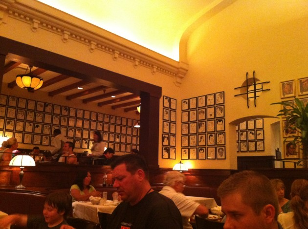 Brown Derby Restaurant at Walt Disney World