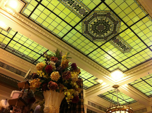 Ceiling at Emporium on Main Street in Walt Disney World