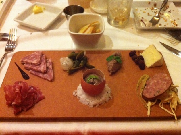 Charcuterie Board at the Yachtsman Club