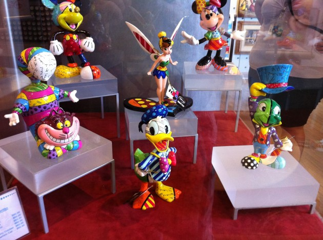 Cool Disney Painted Figurines