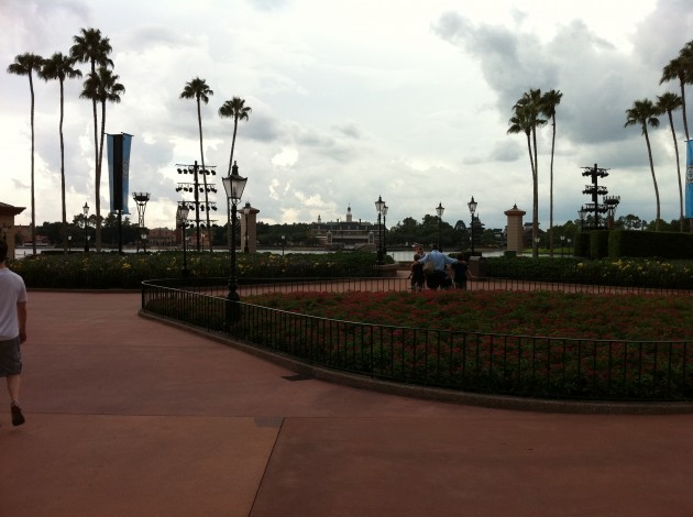 The Epcot Lake