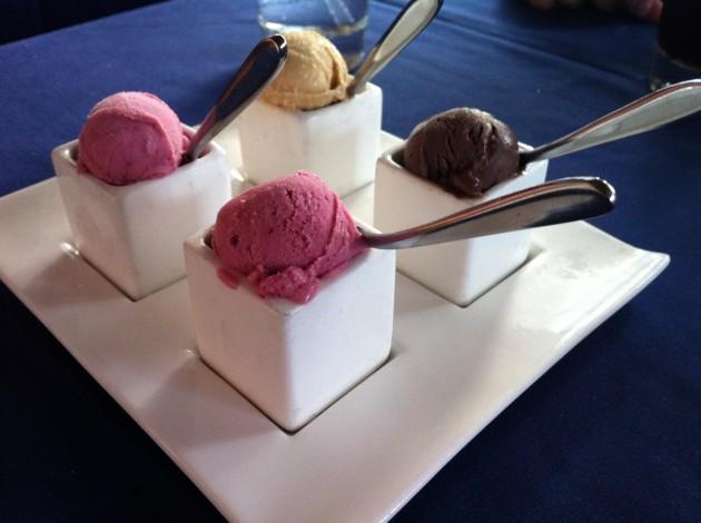 Narcoossee's Gelato Sampler Dessert